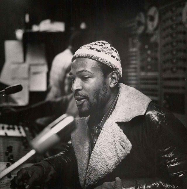 画像: 1971年に撮影されたマーヴィン・ゲイ