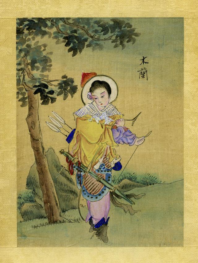 画像: 19世期末に描かれた『木蘭』