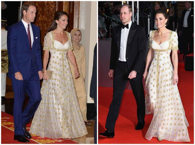 画像: 右が2012年のキャサリン妃、左が2020年のキャサリン妃。