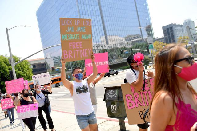 画像1: 「#FreeBritney」と関連がある?