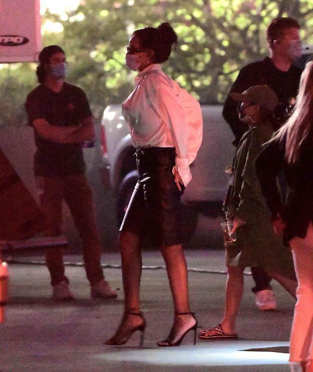 画像2: リアーナが再びロサンゼルスで姿を見せる