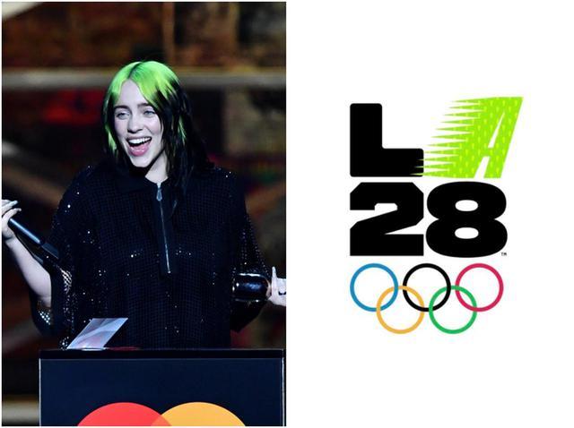 画像: ビリー・アイリッシュら26人が手掛けた2028年ロサンゼルス五輪の公式ロゴが最高すぎる - フロントロウ -海外セレブ情報を発信