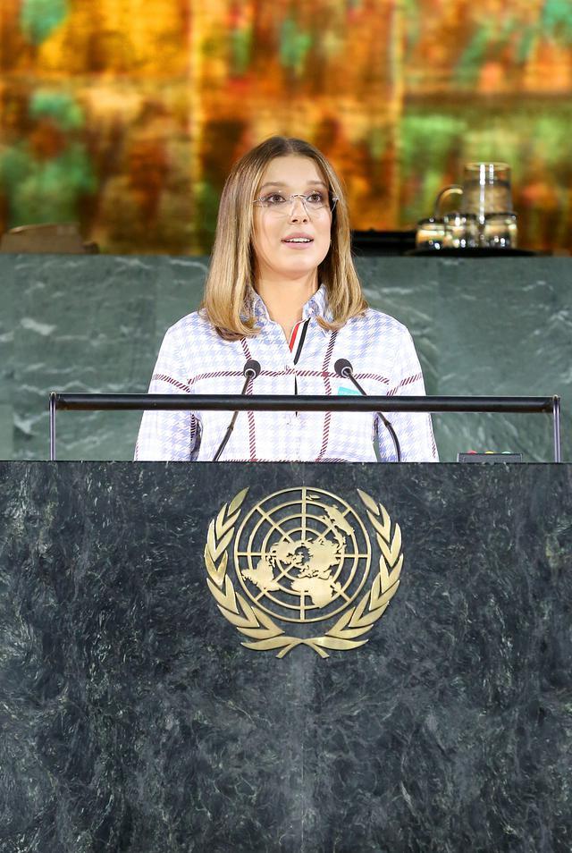 画像1: 最年少で国連の親善大使に