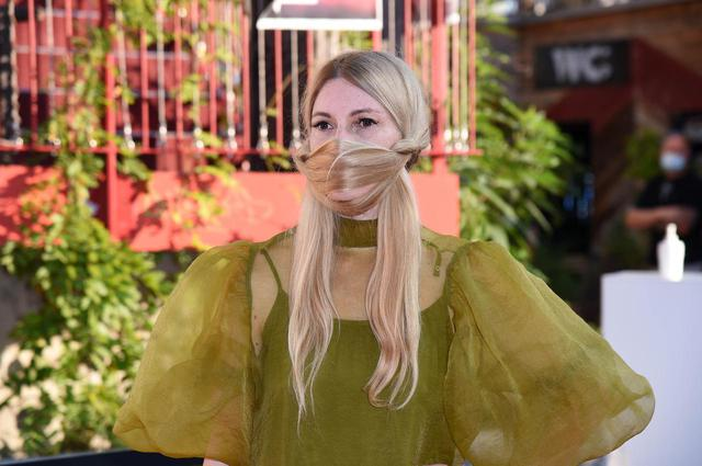 画像2: 存在感抜群の髪マスク