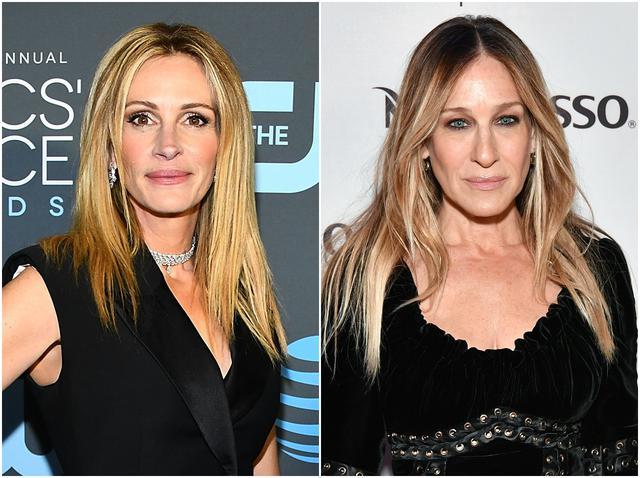 画像: 左:ジュリア・ロバーツ 右:サラ・ジェシカ・パーカー