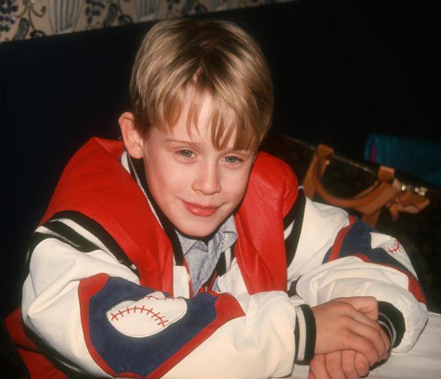 画像: 幼い頃のマコーレー。この写真は『ホーム・アローン』の第1作目が公開された翌年1991年に撮られた。