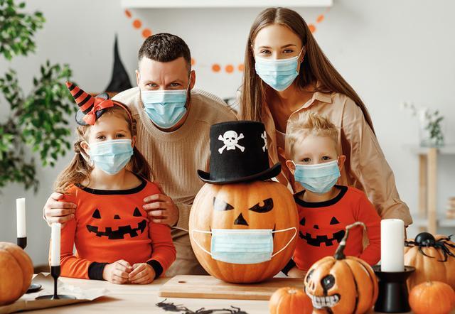 画像: 「ハロウィン仕様マスク」に熱視線
