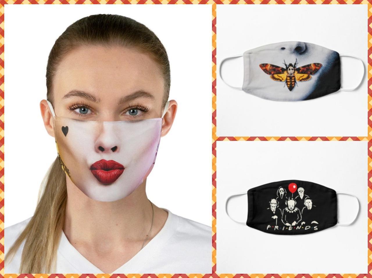 画像: 今年の仮装はこれで完了!「ハロウィン仕様マスク」が可愛くて使えそう - フロントロウ -海外セレブ情報を発信