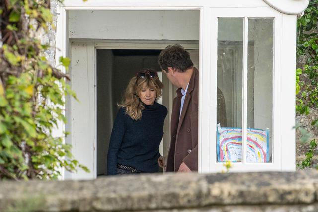 画像4: 不倫相手の人気俳優が妻と一緒に公の場に