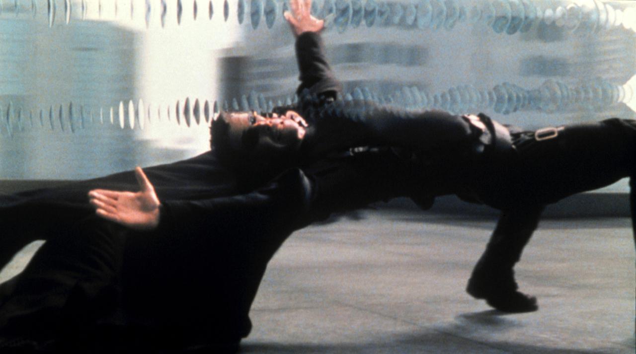 画像: 1999年『マトリックス』より。 ⓒROADSHOW FILM LIMITED / Album/Newscom