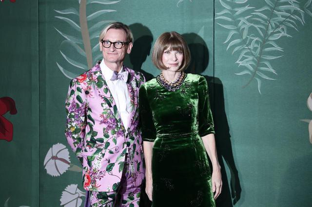 画像: 米Vogueの編集主幹であるハミッシュ・ボウルズと編集長のアナ・ウィンター。