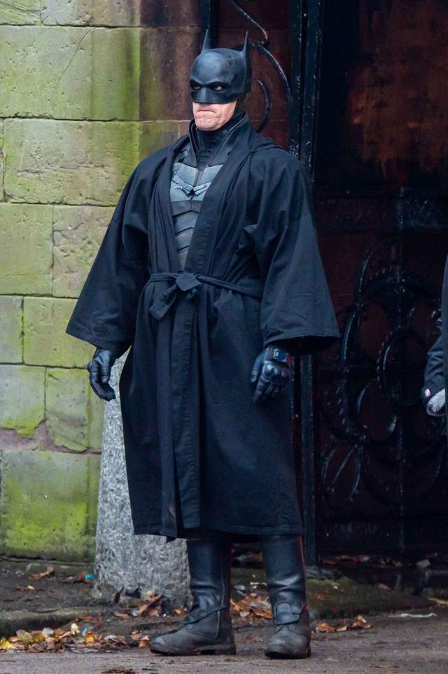 画像: イギリスで撮影中の『ザ・バットマン』
