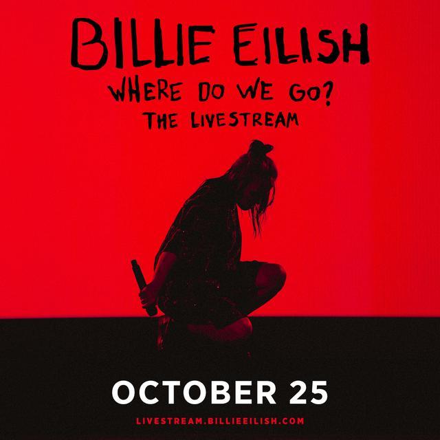 画像: 10月25日にオンラインライブを開催するビリー・アイリッシュ