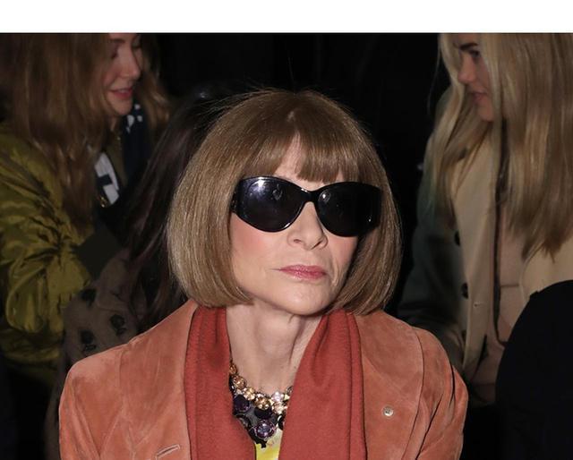 画像: 米Vogue編集長アナ・ウィンターの「スウェット姿」に世界が激震 - フロントロウ -海外セレブ情報を発信