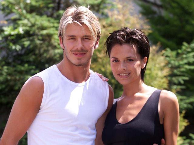 画像: 1999年に撮影されたデビッドとヴィクトリア。
