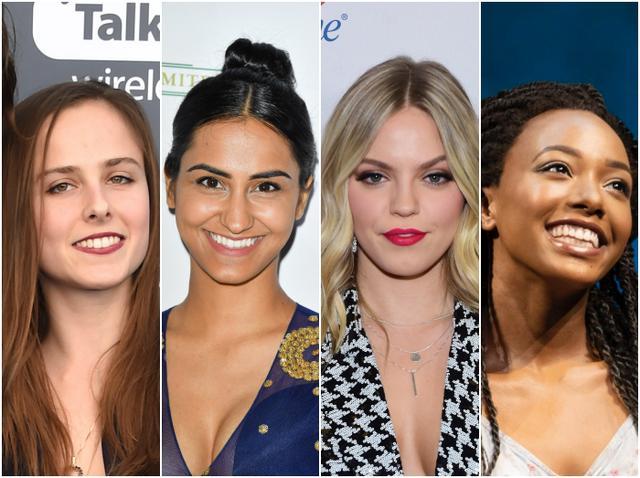 画像: 左から、ポーリーヌ・シャラメ、アムリット・カウアー、レネー・ラップ、アリヤ・シャネル・スコット