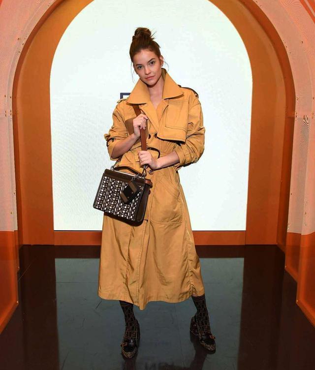 画像: 人気モデルのバーバラ・パルヴィン