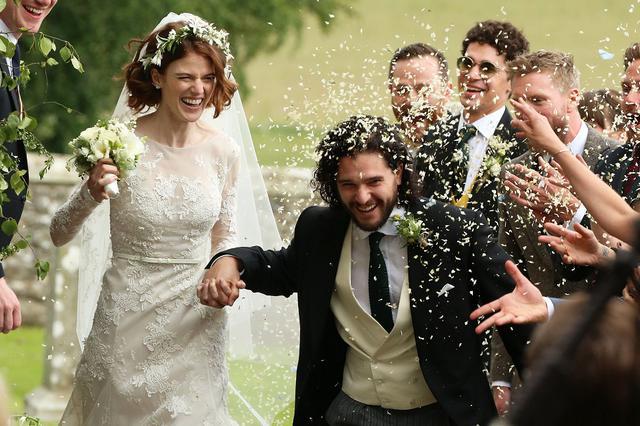 画像: 結婚式にて。