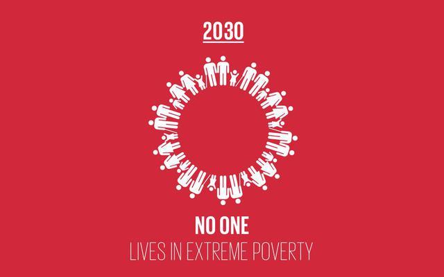 画像: 毎年10月17日は「貧困撲滅のための国際デー」