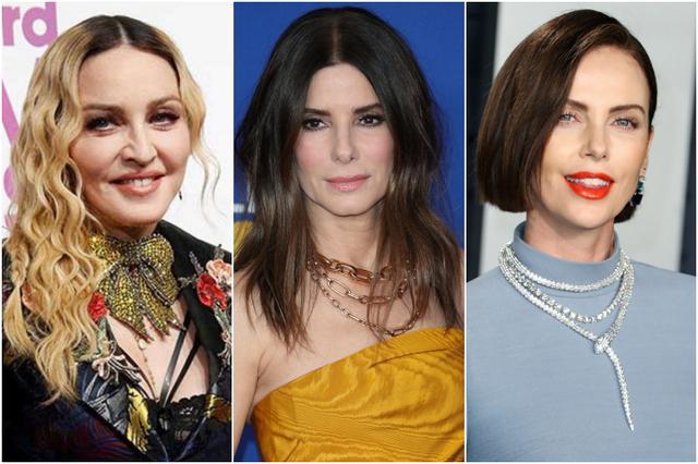 画像: シングルマザーであり養親のセレブたち。左から:マドンナ、サンドラ・ブロック、シャーリーズ・セロン。