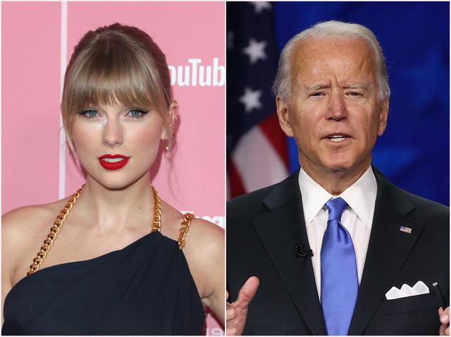 画像: ジョー・バイデン候補の支持を正式表明、テイラー・スウィフトが次期大統領に求めることとは? - フロントロウ -海外セレブ情報を発信