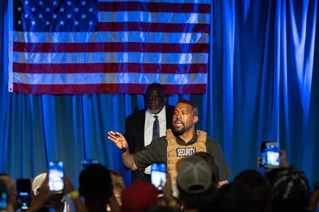 画像: 7月にカロライナ州ノース・チャールストンで開催した政治集会にて。