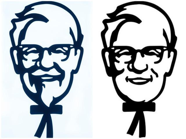 """画像: KFCのカーネル・サンダースも""""イメチェン"""""""