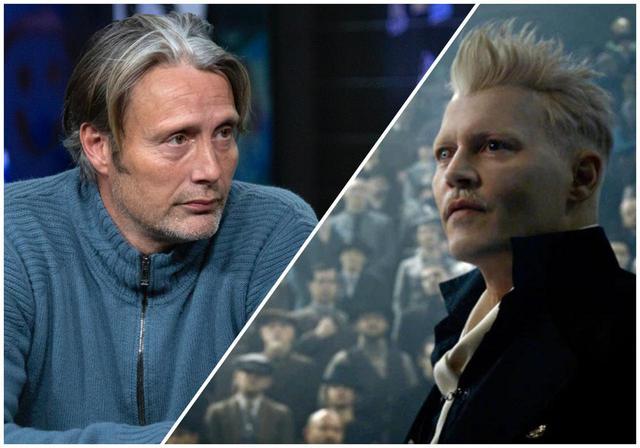 画像: グリンデルバルド役で出演交渉中とウワサのマッツ・ミケルセン(左)とグリンデルバルド役を降板したジョニー・デップ(右)。