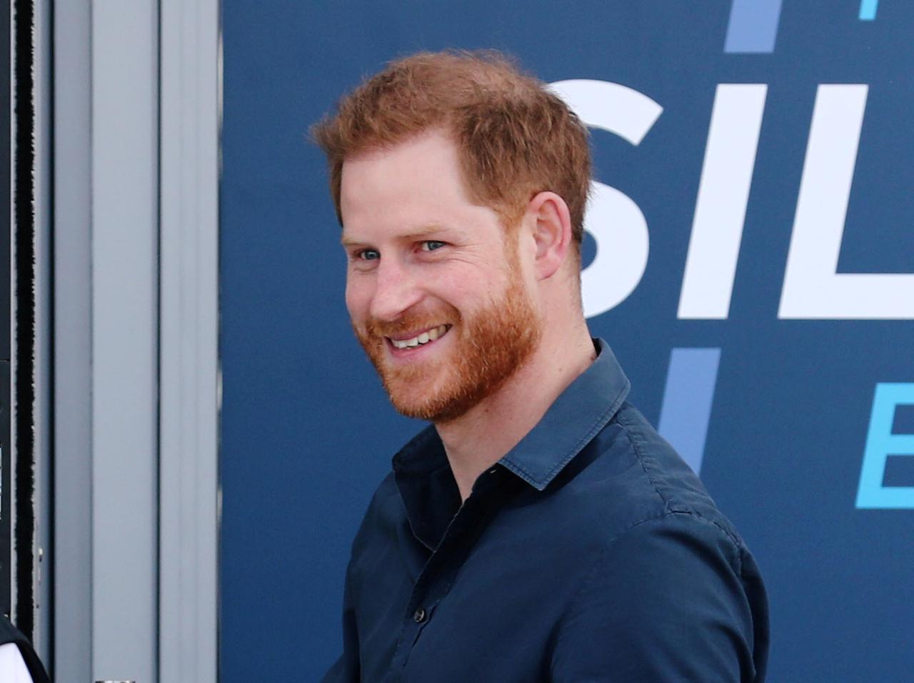 画像: ヘンリー王子