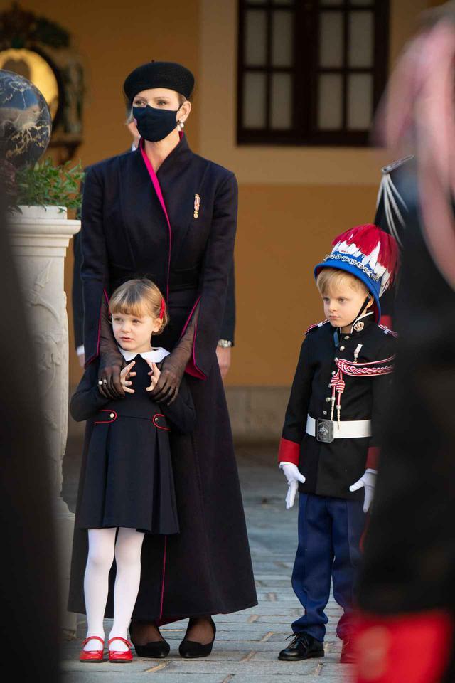 画像4: ジャック公子とガブリエラ公女が式典に参加