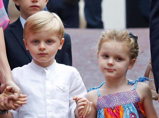 画像3: ジャック公子とガブリエラ公女が式典に参加
