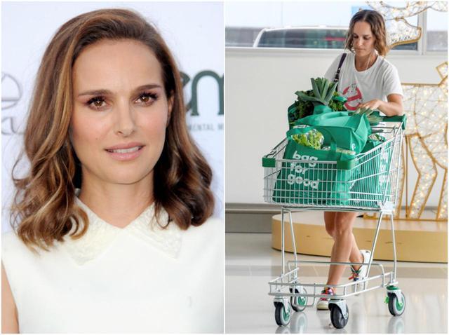 画像: ナタリー・ポートマン、スーパーで「大量買い」したものがさすが - フロントロウ -海外セレブ情報を発信