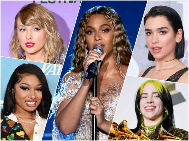 画像: グラミー賞2021、ノミネートが発表!ビヨンセ、テイラー、デュア、ビリーら女性が優勢 - フロントロウ -海外セレブ情報を発信