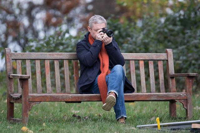 画像5: マーティン・フリーマン自身が手掛けるドラマの撮影