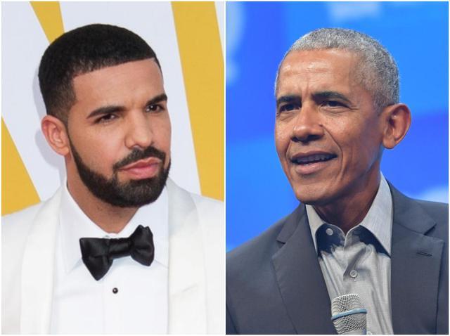 画像: オバマ元大統領、「才能のある兄弟」ドレイクを指名