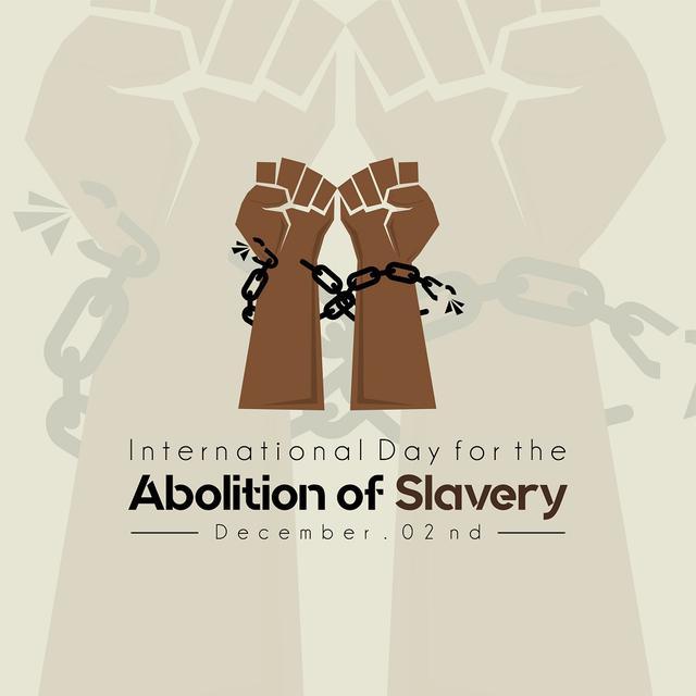 画像: 12月2日は「奴隷制度廃止国際デー」