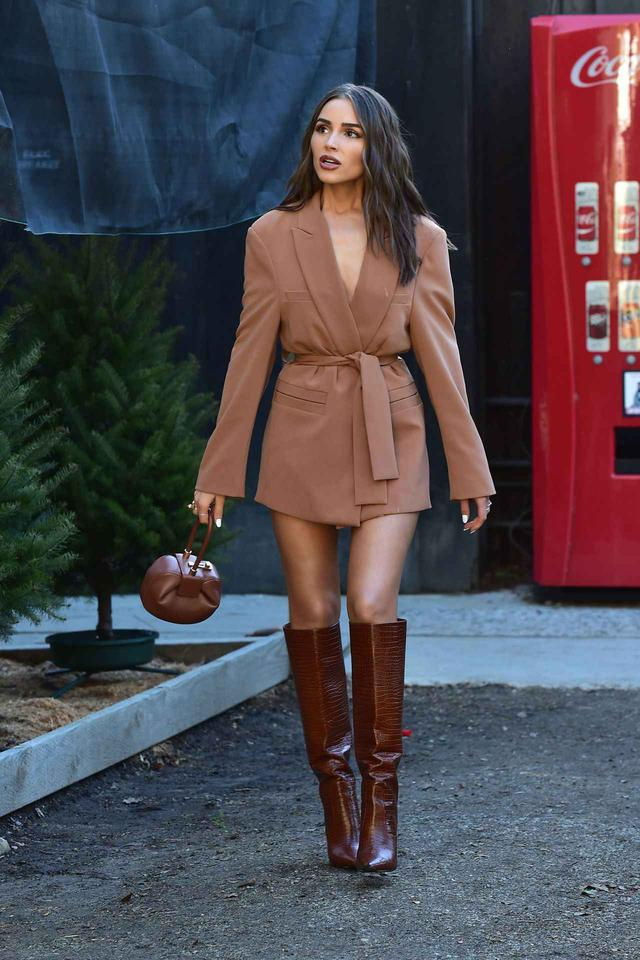 画像: 人気モデルのオリヴィア・カルポ