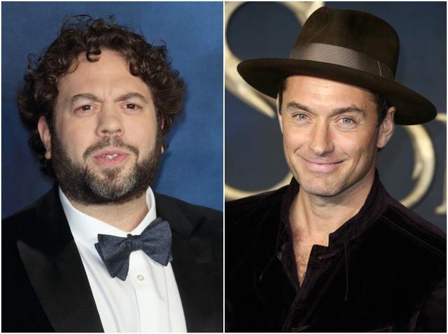 画像: 左:ダン・フォグラー、右:ジュード・ロウ