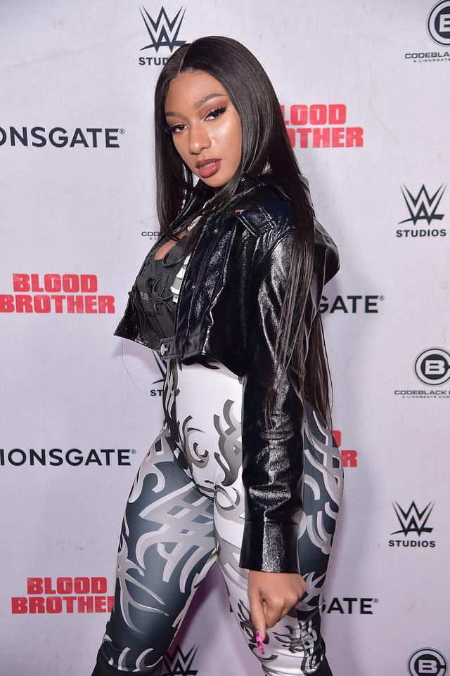 画像: 2018年、ニューヨークで開催された映画『ブラッド・ブラザー(原題/Blood Brother)』の上映会に出席したメーガン。