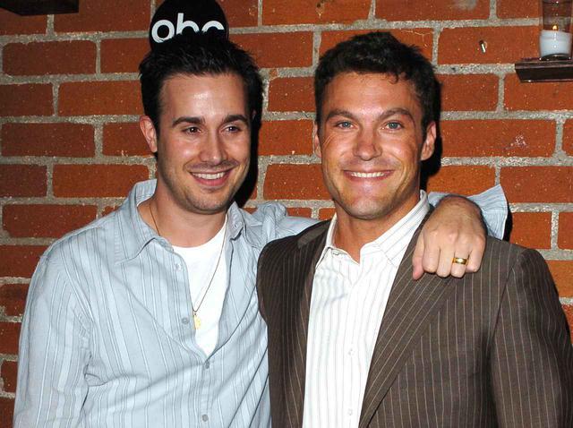 画像: 2005年に撮影されたフレディ・プリンゼ・Jr.とブライアン・オースティン・グリーン。