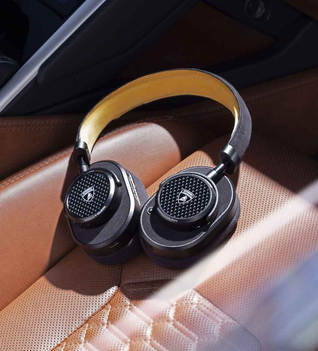 画像1: 最高級の品質で作られたランボルギーニのワイヤレスヘッドフォン