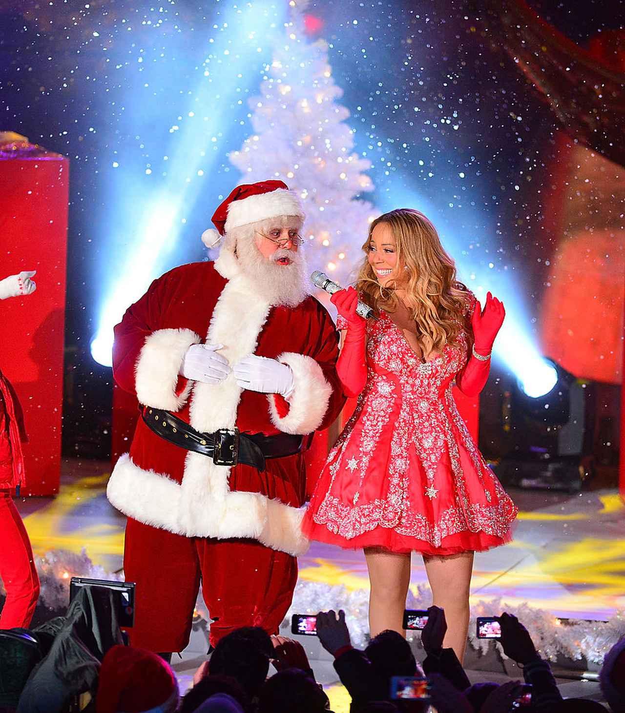 画像: 「クリスマスの女王」マライア・キャリー