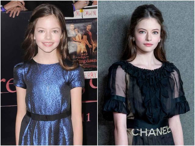 画像: 2011年に映画デビューした当時は11歳だったマッケンジー・フォイ(左)。2020年で20歳になった。