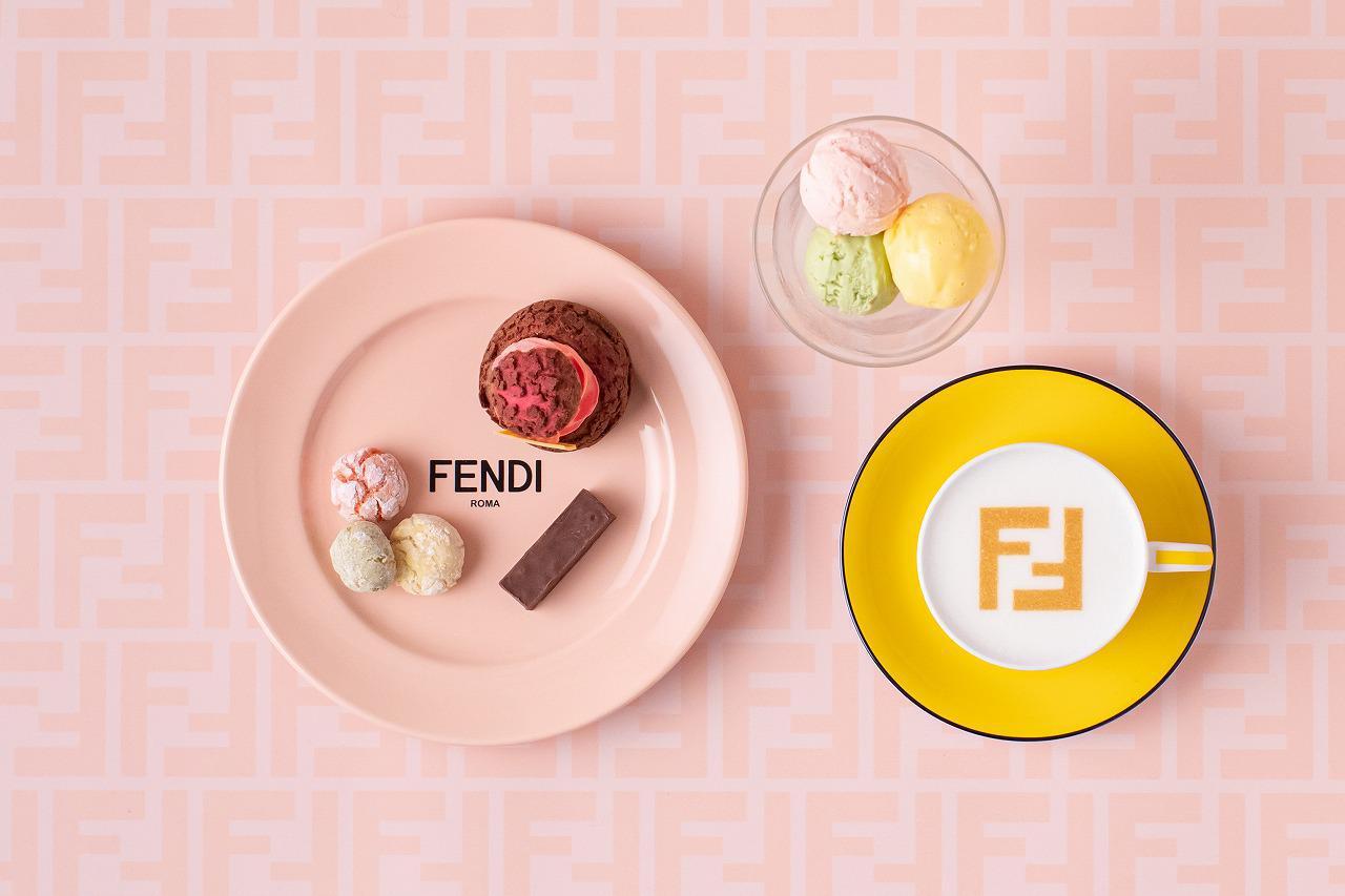 画像4: フェンディの世界を堪能できるコラボカフェ