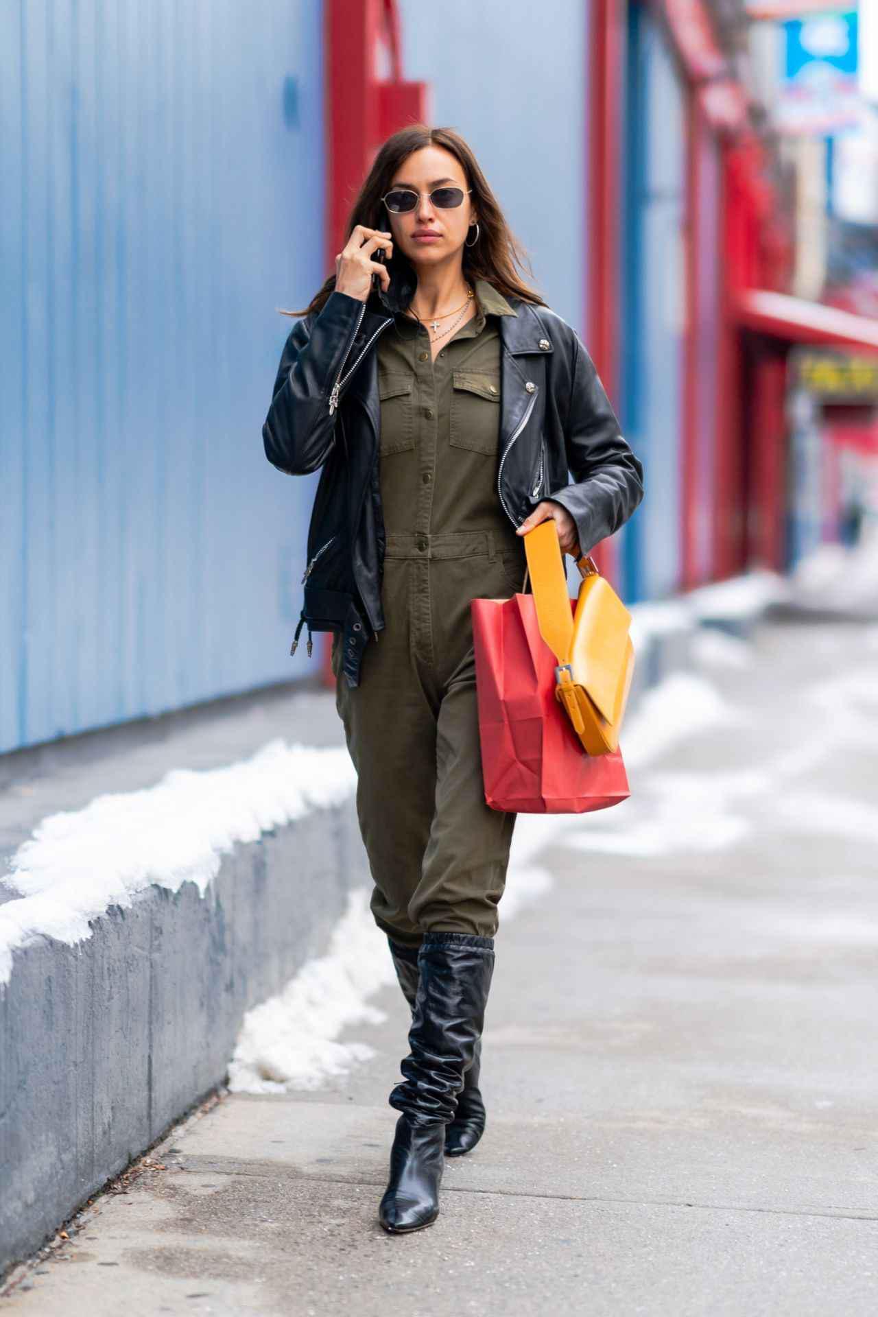 画像1: トップモデルのイリーナ・シェイク