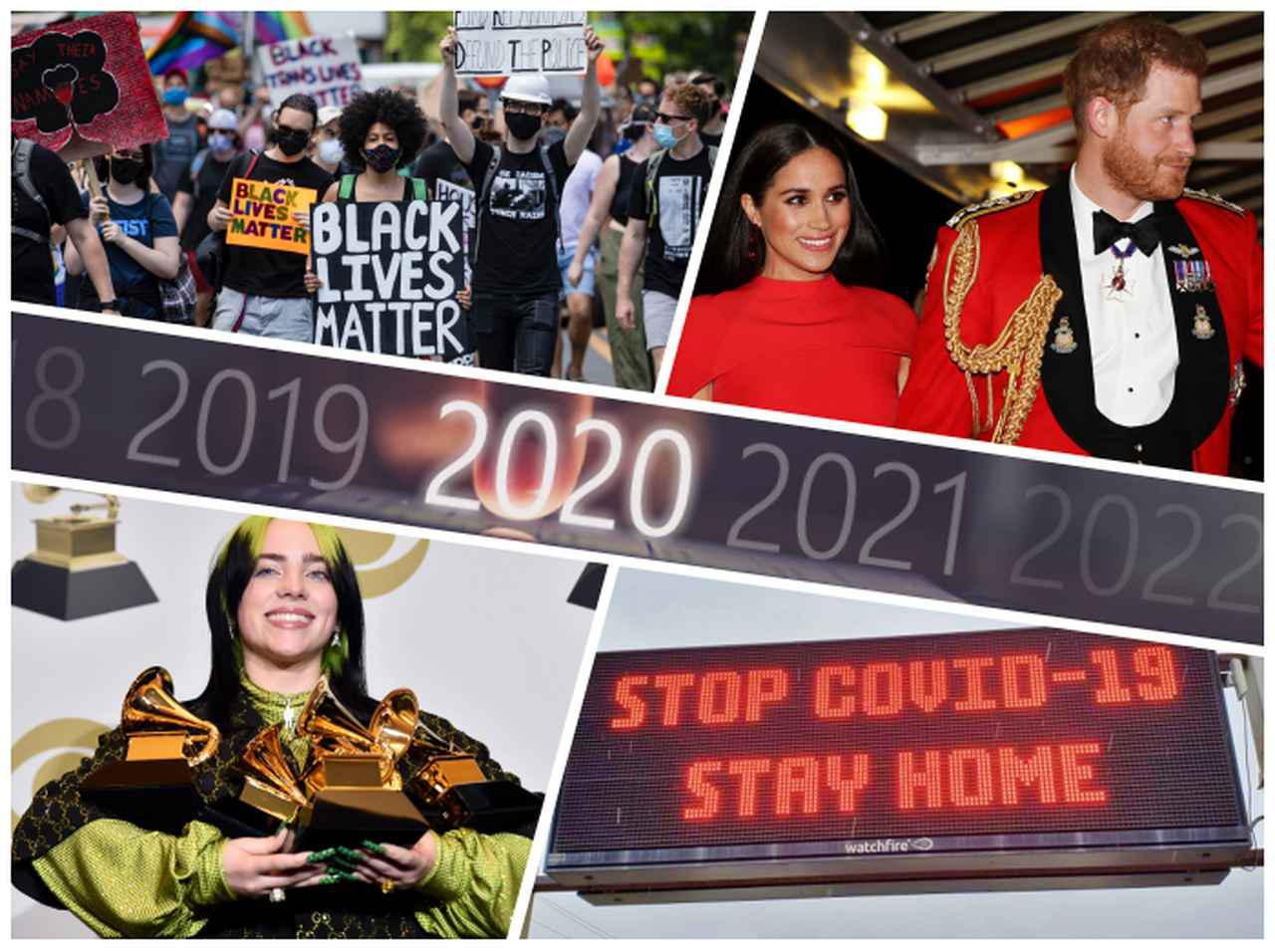 画像: たった半年で世界が激変、「2020年上半期に起こった出来事」を総ざらい - フロントロウ -海外セレブ情報を発信