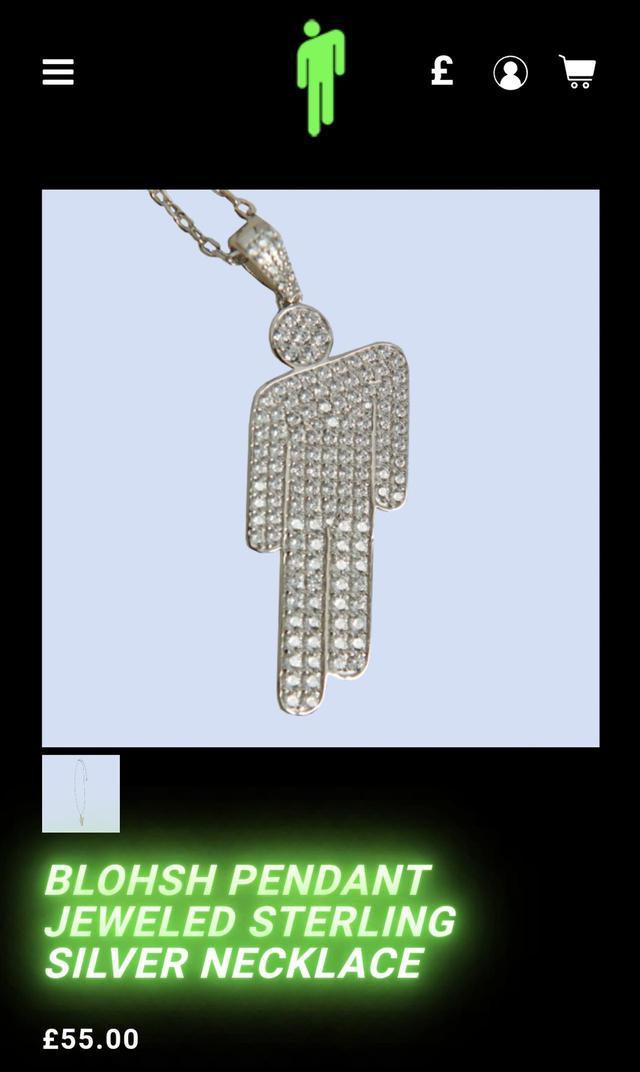画像3: ビリー・アイリッシュのネックレスに注目