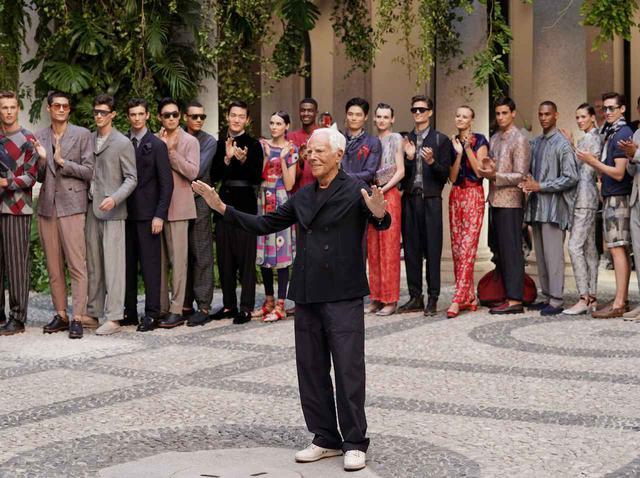 画像: ジョルジオ・アルマーニ、モデルにヌードを強要することは「レイプ」業界全体に苦言 - フロントロウ -海外セレブ情報を発信