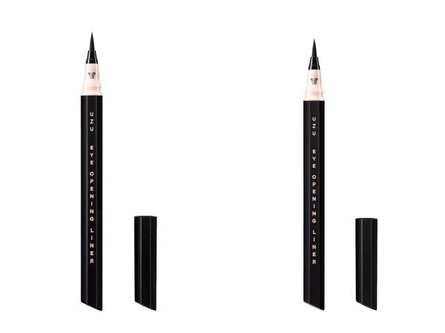 画像: UZU「アイオープニングライナー セブンシェイズ オブ ブラック」 左:ピッチブラック、右:マットブラック 各1,500円(税抜)
