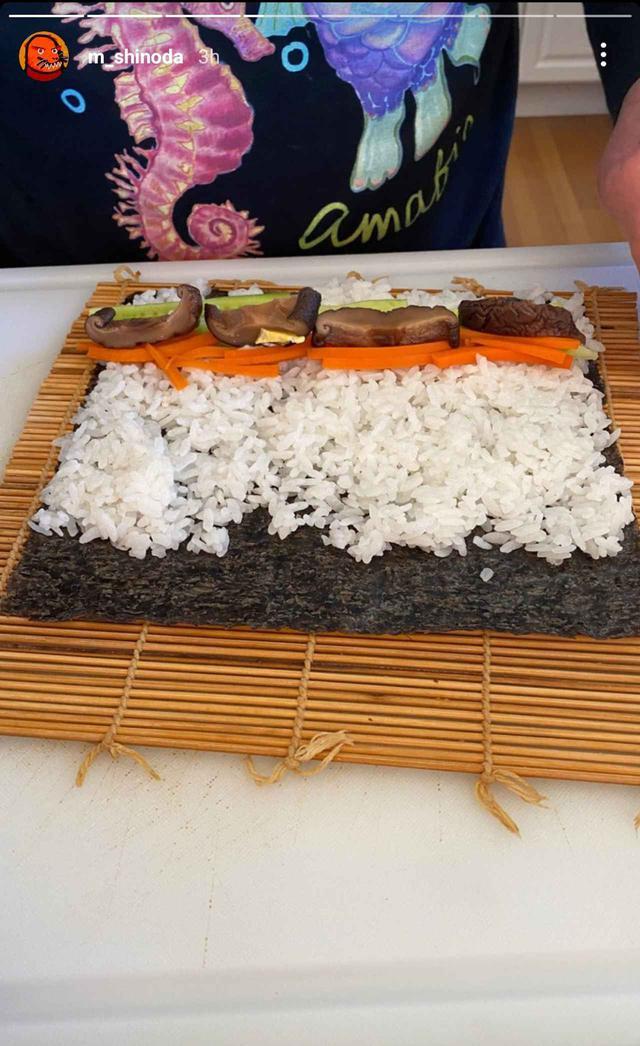 画像3: マイク・シノダ、日本流のお正月で2021年を迎える